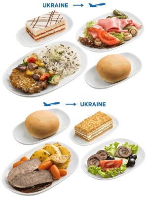 c615dffdbb Pre-ordered meal – Ukraine International Airlines (UIA) (Ukraine)
