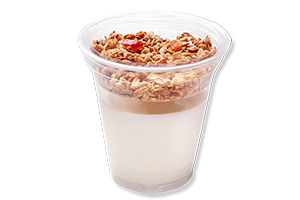 Yogurt with granola 200/30 g UIA